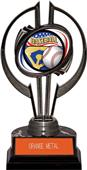 "Black Hurricane 7"" Americana Baseball Trophy"
