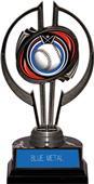 "Black Hurricane 7"" Eclipse Baseball Trophy"