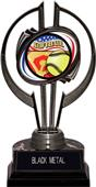 "Black Hurricane 7"" Americana Softball Trophy"