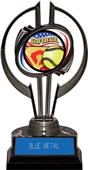 """Black Hurricane 7"""" Americana Softball Trophy"""