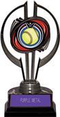 "Black Hurricane 7"" Eclipse Softball Trophy"