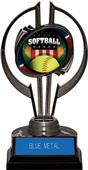 "Awards Black Hurricane 7"" Patriot Softball Trophy"