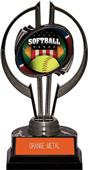"Awards Black Hurricane 7"" Patriot Softball Trophy"
