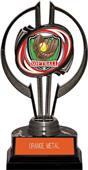 "Awards Black Hurricane 7"" Shield Softball Trophy"