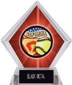 Awards Americana Softball Red Diamond Ice Trophy