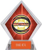 Awards Classic Softball Red Diamond Ice Trophy