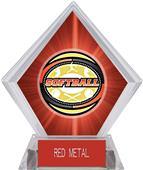 Awards Classic Softball Red Diamond Ice Trophy