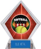 Awards Patriot Softball Red Diamond Ice Trophy