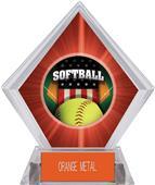 Awards Patriot Softball Red Diamond Ice Trophy