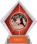 Awards P.R.1 Softball Red Diamond Ice Trophy