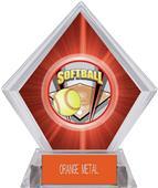 Awards ProSport Softball Red Diamond Ice Trophy