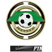 "Hasty Awards Soccer 3"" Saturn Medals"
