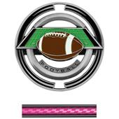 "Hasty Awards Football 3"" Saturn Medals"