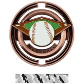 "Hasty Awards Baseball 3"" Saturn Medals"