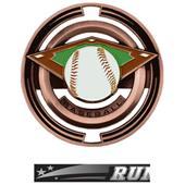 "Hasty Awards Baseball 3"" Saturn Medals"
