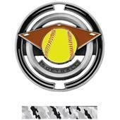 "Hasty Awards Softball 3"" Saturn Medals"
