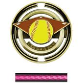 "Hasty Awards Softball 3"" Saturn Medals"