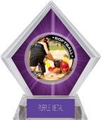 Awards P.R.2 Softball Purple Diamond Ice Trophy
