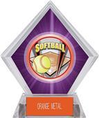 Awards ProSport Softball Purple Diamond Ice Trophy