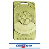 "Hasty Awards Soccer 3"" Legacy Medals"