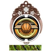 "Hasty Awards Tiara 3"" Basketball Saturn Medals"