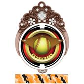"Hasty Awards Tiara 3"" Softball Saturn Medals"