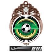 "Hasty Awards Tiara 3"" Soccer Saturn Medals"