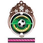 "Hasty Awards Tiara 3"" Soccer Saturn Medals"