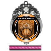 "Hasty 3"" Tiara Medal 2"" Legacy Basketball Mylar"