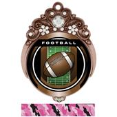"Hasty Awards Tiara 3"" Football Legacy Medals"