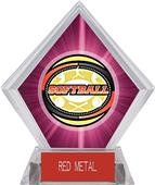 Awards Classic Softball Pink Diamond Ice Trophy
