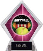 Awards Patriot Softball Pink Diamond Ice Trophy