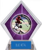 Awards P.R.1 Baseball Purple Diamond Ice Trophy