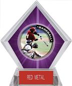 Awards P.R.1 Baseball Purple Diamond Ice Trophy