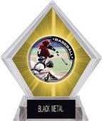 Awards P.R.1 Baseball Yellow Diamond Ice Trophy