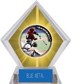 Awards P.R.1 Baseball Yellow Diamond Ice Trophy