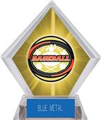 Awards Classic Baseball Yellow Diamond Ice Trophy