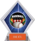 Awards Patriot Baseball Blue Diamond Ice Trophy