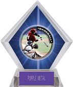 Awards P.R.1 Baseball Blue Diamond Ice Trophy