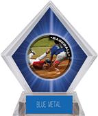 Awards P.R.2 Baseball Blue Diamond Ice Trophy