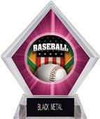 Awards Patriot Baseball Pink Diamond Ice Trophy