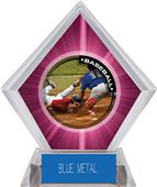 Awards P.R.2 Baseball Pink Diamond Ice Trophy