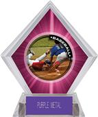 Awards P.R.2 Baseball Pink Diamond Ice Trophy