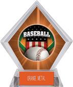 Awards Patriot Baseball Orange Diamond Ice Trophy