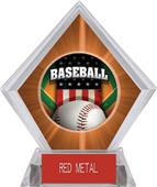 Awards Patriot Baseball Orange Diamond Ice Trophy