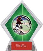 Awards P.R.1 Baseball Green Diamond Ice Trophy