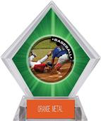 Awards P.R.2 Baseball Green Diamond Ice Trophy