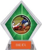 Awards P.R.2 Baseball Green Diamond Ice Trophy