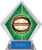 Awards Classic Baseball Green Diamond Ice Trophy