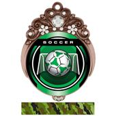 "Hasty Awards Tiara 3"" Soccer Legacy Medals"